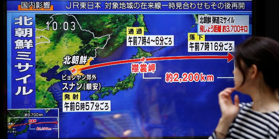 Nordkorea 2 - Japan kündigt Maßnahmen an