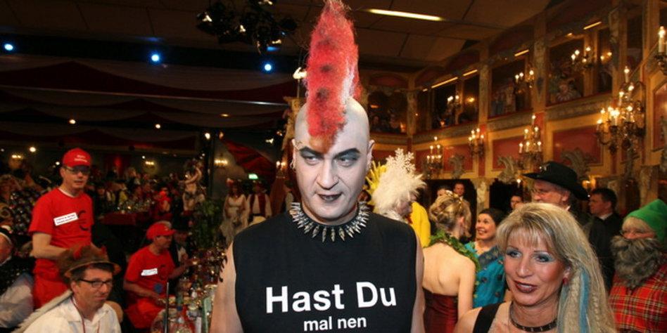 Markus Soder Als Faschings Punk Am Marggus Sein Humor Taz De