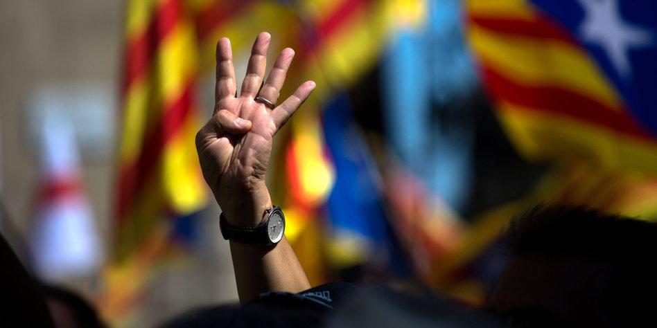 Razzia und Festnahmen in katalanischer Regierung