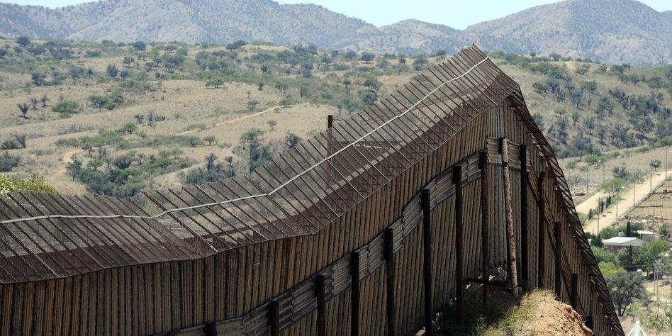 Grenzmauer Zwischen Usa Und Mexiko Acht Prototypen Im Bau Taz De