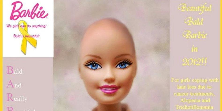 Facebookfans Fordern Barbie Mit Glatze Prinzessinnen