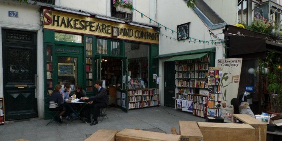 Shakespear Cafe Paris