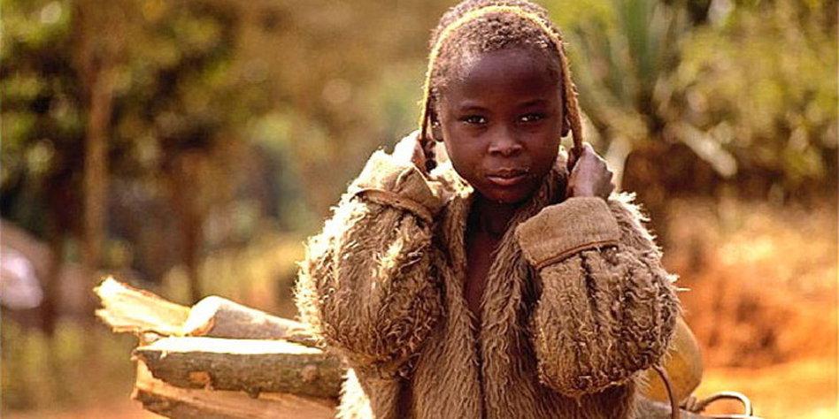 hungernde kinder in afrika