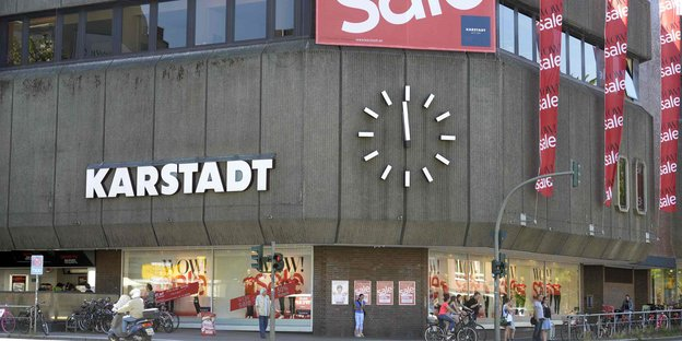 Karstadt-Filiale in Hamburg