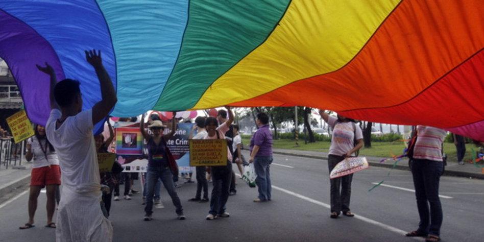 Der Kampf für die Rechte der Schwulen
