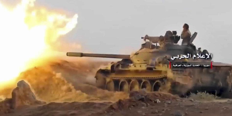 Syrische Armee vor Einnahme von letzter IS-Hochburg