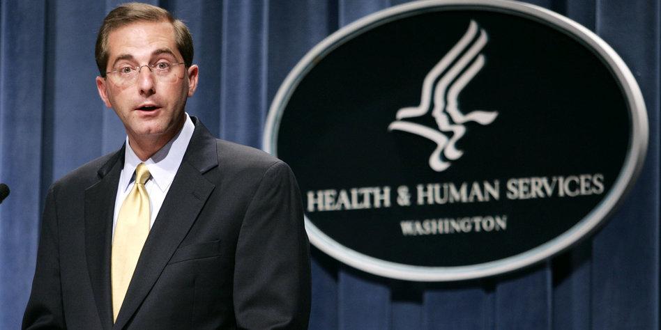 Auf Twitter: Trump präsentiert neuen Gesundheitsminister