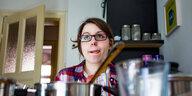 Vom Glück, für sich alleine zu kochen: Me, myself and Ei
