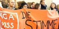Protest gegen Arbeitsbedingungen an Unis: Prekäres Kanonenfutter