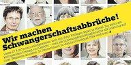"""""""Wir machen Schwangerschaftsabbrüche"""": Kollegen-Solidarität mit Kristina Hänel"""