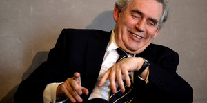 Ein Mann, Gordon Brown