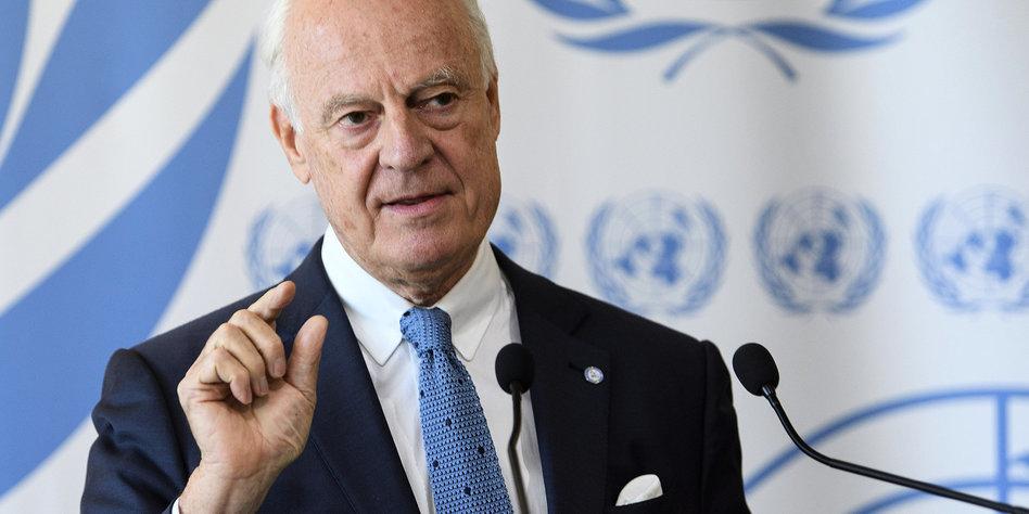 Genf: Syrische Regierung lässt auf sich warten