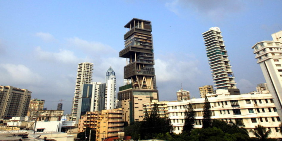 teuerstes wohnhaus der welt eine luxus ruine in mumbai. Black Bedroom Furniture Sets. Home Design Ideas