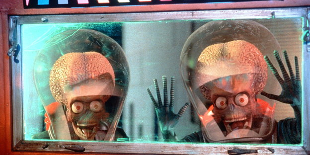 Aliens aus dem Film Mars-Attacks