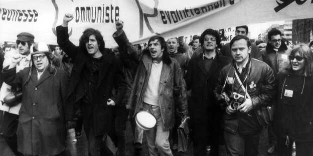 Demo in Berlin 1968