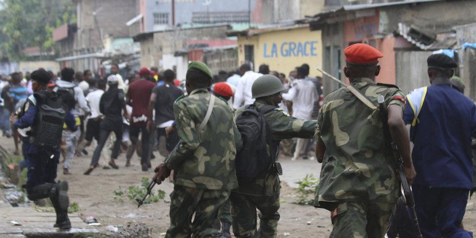 Kongo ordnet vor Anti-Regierungs-Protesten Sperrung des Internets an