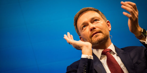 Lindner applaudiert