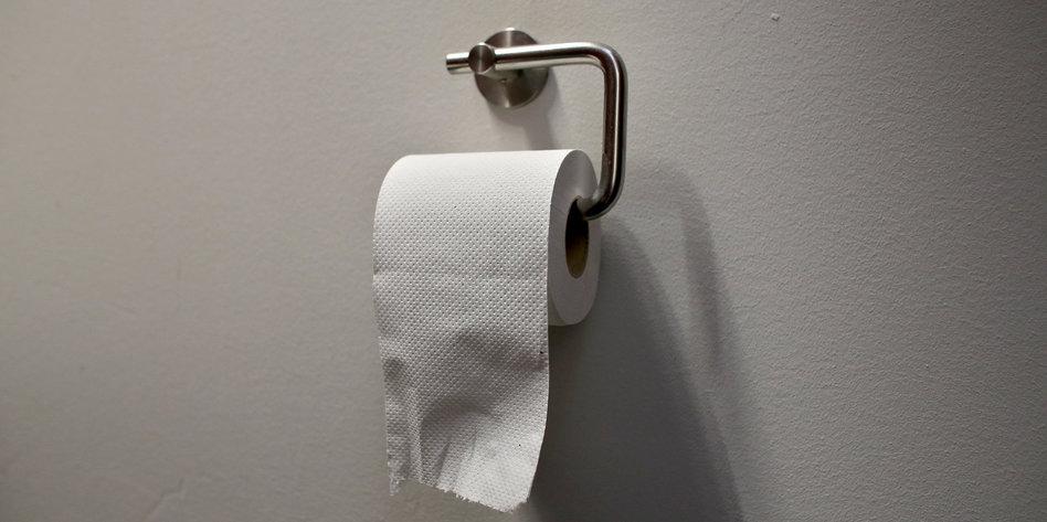 Auf toilettenpapier blut Blut im