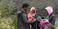 Frankreichs Präsident besucht Calais: Die Wartenden am Ärmelkanal