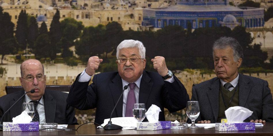 PLO will Anerkennung Israels zurückziehen