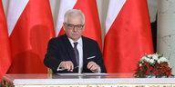 Polens neuer Außenminister in Berlin: Erstmal Gutwetter machen
