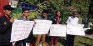 Demonstration in Birma: Mindestens sieben Tote