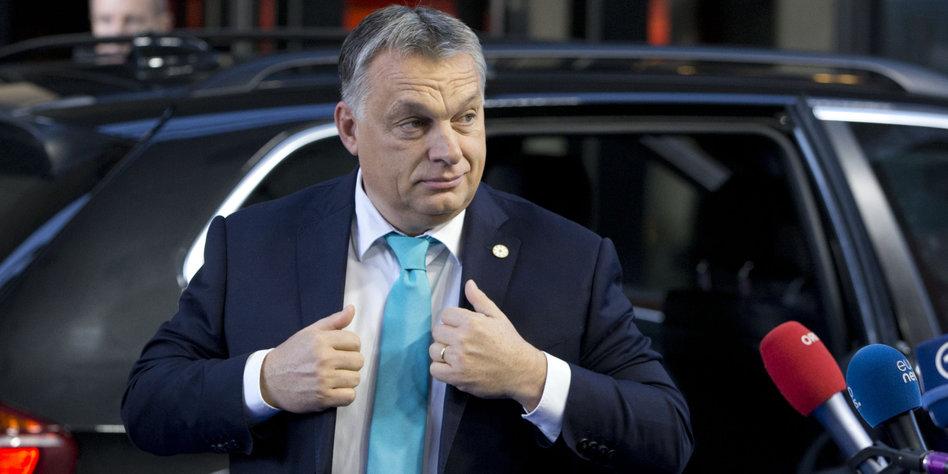 Schlag gegen Auslandsorganisationen: Orban plant Strafsteuer für Flüchtlingshelfer