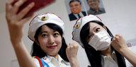 Nordkoreanische Frauenband Moranbong: Auf diplomatischer Mission