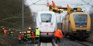 """Orkan """"Friederike"""" in Deutschland: Bahn stellt Fernverkehr ganz ein"""