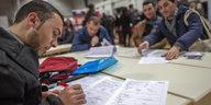 Aufklärungskampagne für Migranten: Quiz mit kleinen Fehlern