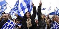 Proteste in Griechenland: Ein Kompromiss gilt als Verrat