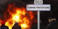 Haftanstalten in Frankreich: Wenn Wärter streiken
