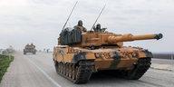 Rüstungsdeal mit der Türkei: Deutsche Panzer rollen nach Syrien