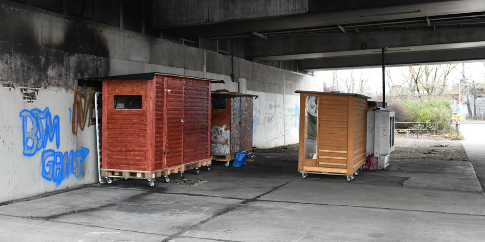 mobile h uschen f r obdachlose home little home. Black Bedroom Furniture Sets. Home Design Ideas