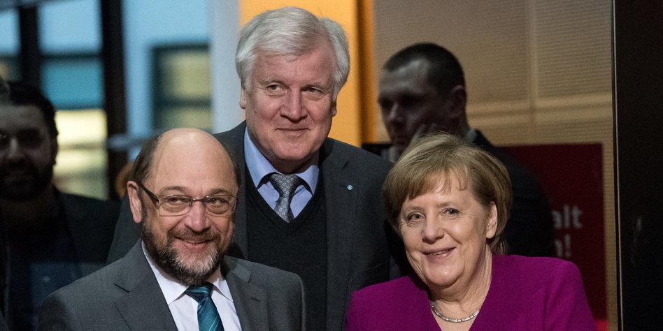Kurz vor Abschluss: Internes SPD-Papier soll GroKo-Zeitplan verraten