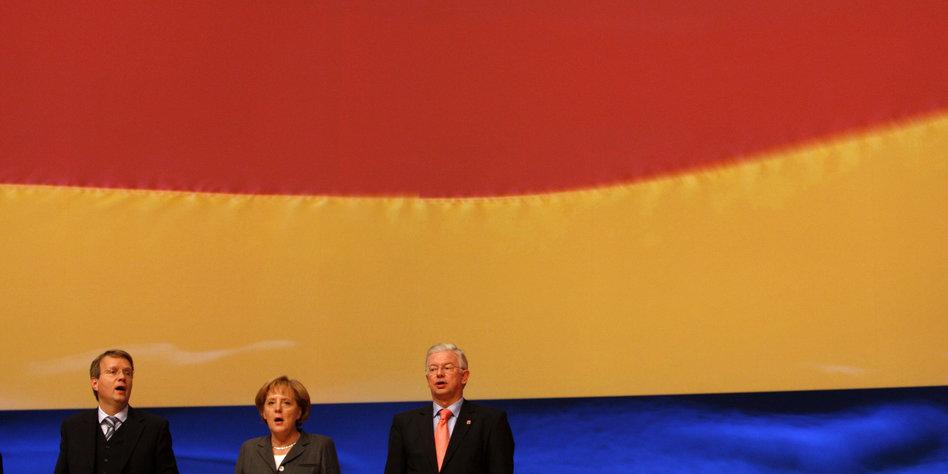 Das Lied Der Deutschen Wem Die Hymne Gebührt Tazde