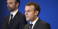 Nach dem Terrorangriff in Frankreich: Macron verspricht Entschlossenheit