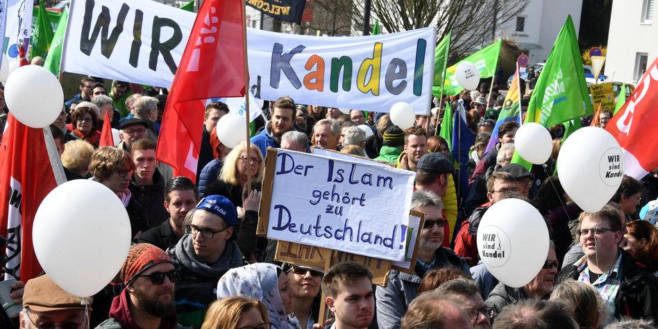 Demo Kandel Samstag