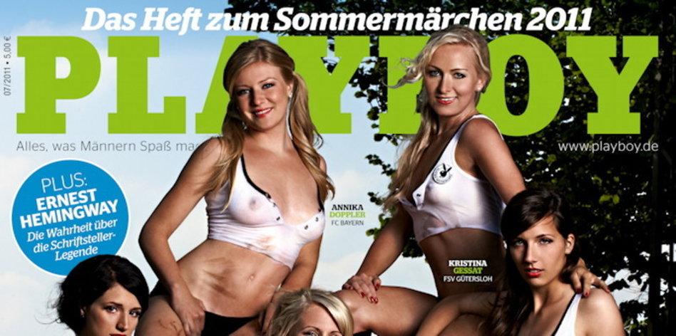 Im playboy sportlerinnen Deutsche Athletinnen