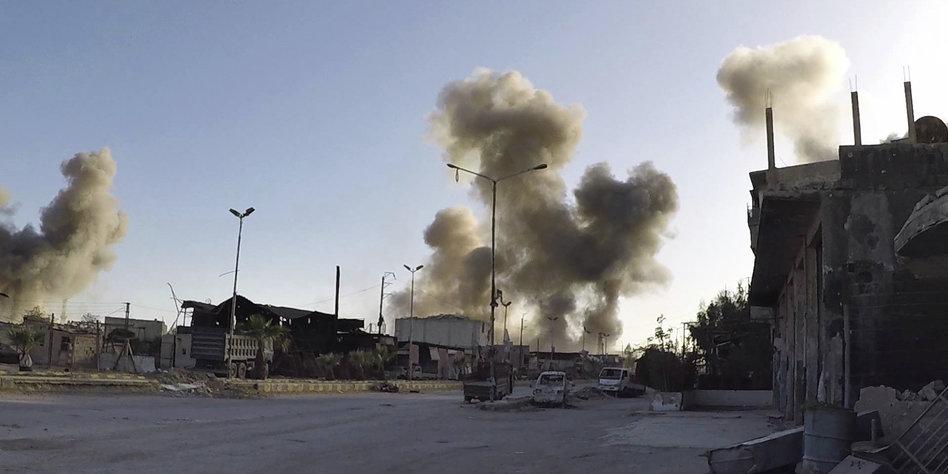 Nach Trump-Drohungen: Syrien stellt sich auf Angriff ein