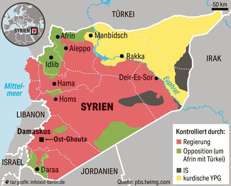 angriff usa syrien völkerrechtswidrig