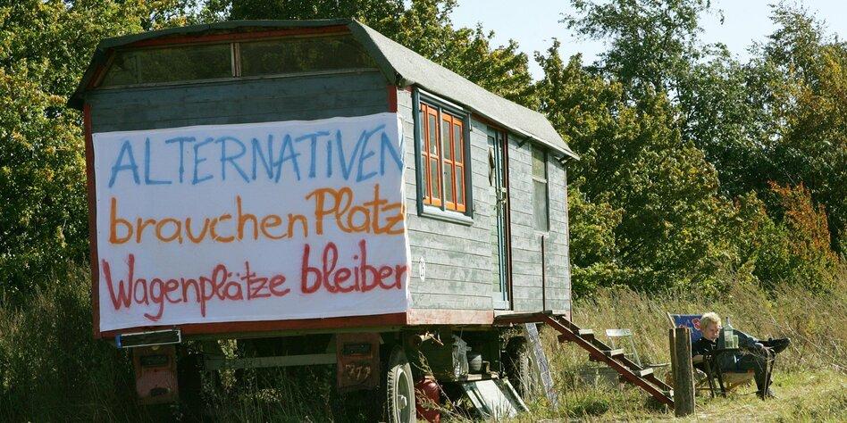 alternativ leben in berlin bauwagen trotzen der gentrifizierung. Black Bedroom Furniture Sets. Home Design Ideas