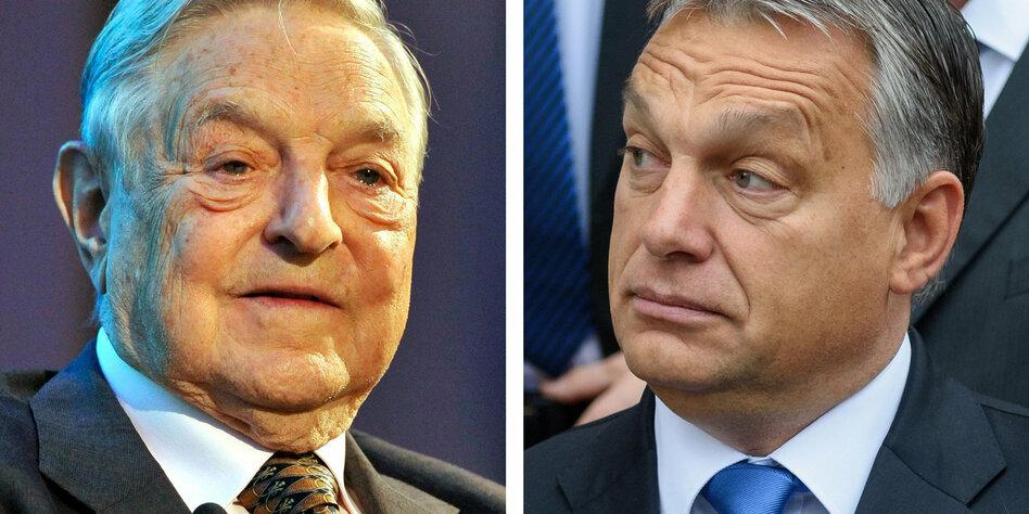 Milliardär George Soros: Orbáns Feindbild
