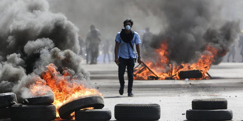 Proteste in Nicaragua gegen Rentenreform