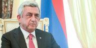 Armeniens Regierungschef tritt zurück: Unter dem Druck der Proteste