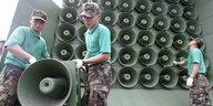 Südkorea stoppt Beschallung Nordkoreas: Keine Lautsprecher-Propaganda mehr
