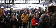 Frankreichs Eisenbahner im Ausstand: Rote Signale aus Paris