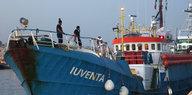 Seenotrettung im Mittelmeer: Die Iuventa kommt nicht frei