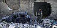 Nervengas-Chemikalie: Schweizer lieferten Stoff nach Syrien