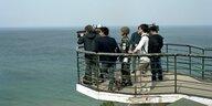 Korea vor dem Gipfeltreffen am Freitag: Friedenszeichen an der Front